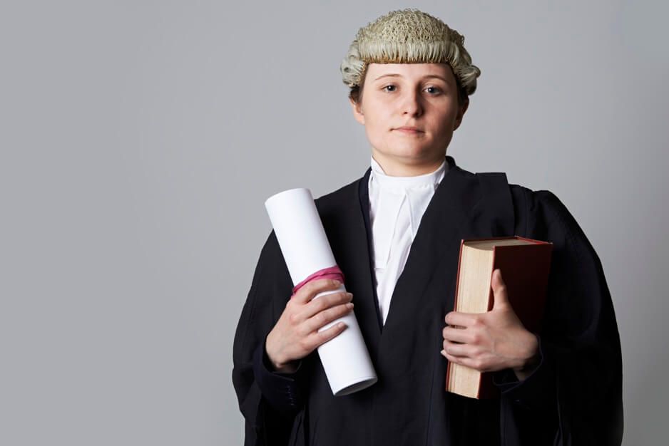 Barristers are trained advocates